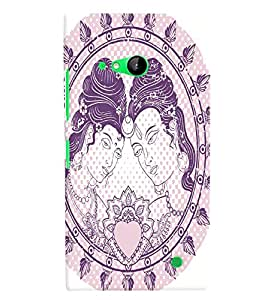 GADGET LOOKS PRINTED BACK COVER FOR Nokia Lumia 730 MULTICOLOR