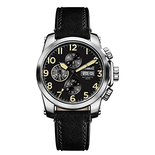 Ingersoll Men's The Manning Automatic Watch withSchwarz Dial andSchwarz Leather Strap I03101