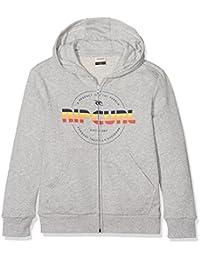 Rip Curl Children's Mr Script Hooded Zip Fleece Sweatshirt