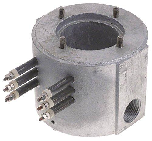 Durchlauferhitzer 230V 1500W ø 75mm Anschluss Flachstecker 6,3mm Höhe 142mm