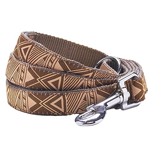 blueberry-pet-durable-mysterious-african-geographical-pattern-dog-lead-120-cm-x-25cm-in-brown-large