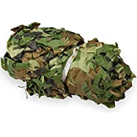 GOTOTOP Camouflage Net, 1.5 x 7m Outdoor Jungle Woodlands Netting Cover for Hunting Camping Hiding