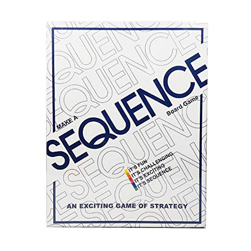 Sequence Board Game | Exciting Strategy Game for Family | Challenging Card Game for Ages 7 & Above