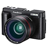 Fotocamera Digitale e Videocamera ,FamBrow Full HD 1080P WiFi Camcorder 24MP 16x Zoom Digitale...