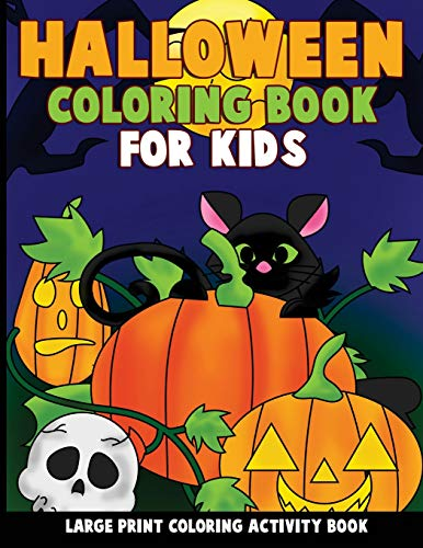 ook for Kids: Large Print Coloring Activity Book for Preschoolers, Toddlers, Children and Seniors ()