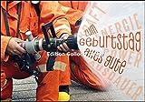Glückwunschkarte zum Geburtstag * Feuerwehr