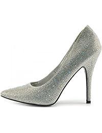 1-48 de más de 5.000 resultados para Zapatos y complementos   Zapatos    Zapatos para mujer   Zapatos de tacón   Plateado b9a0ed322f77
