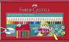 Idea Regalo - Faber-Castell 114415 Valigetta in Legno