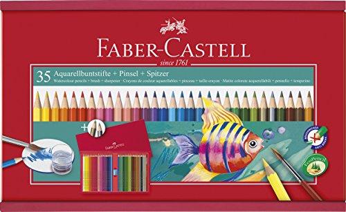 Faber-Castell 114415 Valigetta in Legno