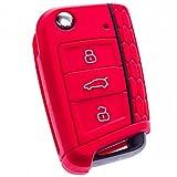 BluePony Carcasa para llaves de Golf 7 VW · GTI Rline · Volkswagen · Carcasa para llaves, Golf VII · Premium