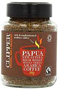 Clipper Instant Coffee - Papua New Guinea 100g (Pack of 2)