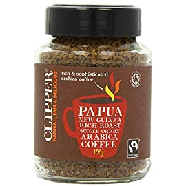 Clipper Instant Coffee – Papua New Guinea 100g (Pack of 2)