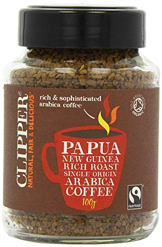 Clipper Instant Coffee – Papua New Guinea 100g (Pack of 2) 519naCvjAIL