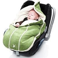 Wallaboo Fußsack, Universal für Babyschale, Autositz, z.B. für Maxi-Cosi, Römer, für Kinderwagen, Buggy oder Babybett