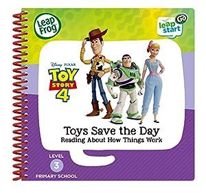 LeapFrog 465003 Toy Story 4 - Libro de Actividades, Multicolor