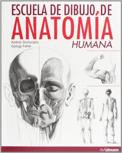 Portada del libro Escuela de dibujo de anatomía humana
