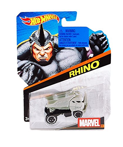 Hot Wheels Marvel Voitures: Rhinocéros