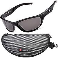 ZILLERATE Polarisierte Sonnenbrille für Herren und Damen, UV Schutz, Leichter Unzerbrechlicher Rahmen, zum Radfahren Skifahren Autofahren Fischen Laufen Wandern Sport, mit Etui und Brillenbänder