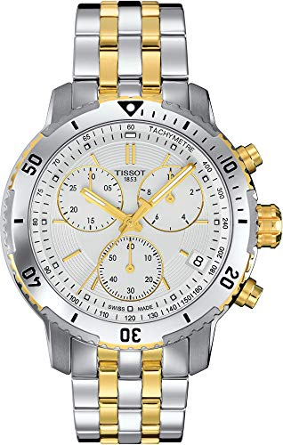 Tissot Herren-Uhren Analog Quarz One Size Edelstahl 86963132
