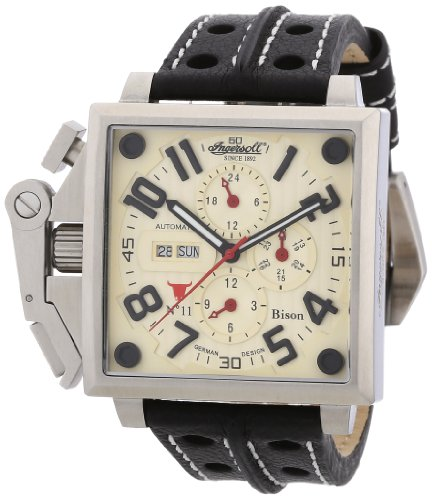 Ingersoll Herren-Armbanduhr BisonN0.11 Analog Automatik IN1613CR