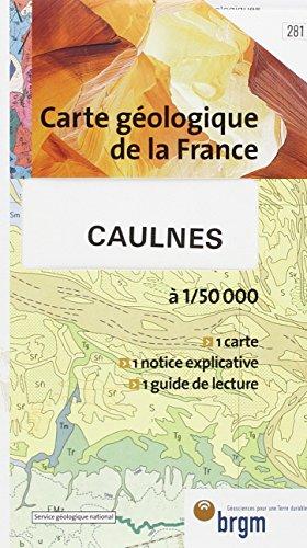 Carte géologique : Caulnes