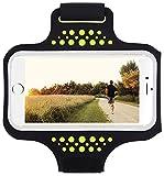 """Bracciale sportivo resistente all'acqua con chiave, soldi, supporto per carta di credito per iPhone 7/7 Plus/6/6S Plus, Galaxy s8/s7/s6 Edge o smartphone fino a 5.7"""""""