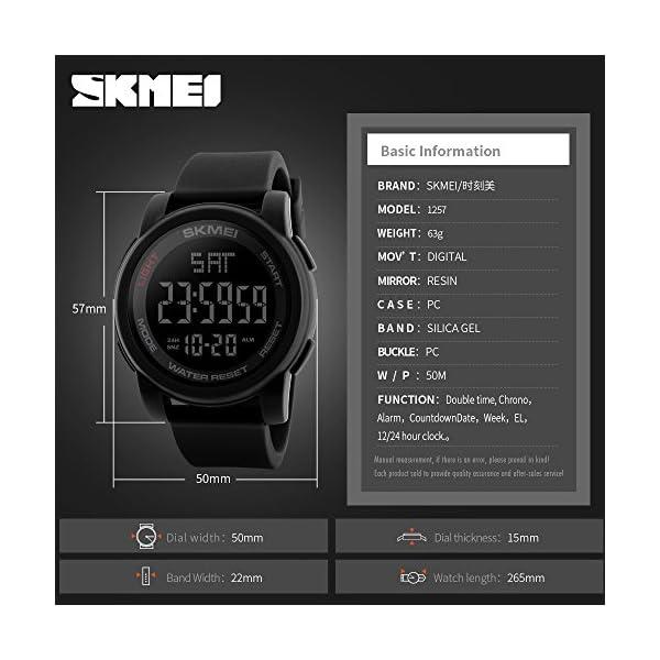 Addic Digital Black Dial Men's & Boy's Watch - Skmeimw73A