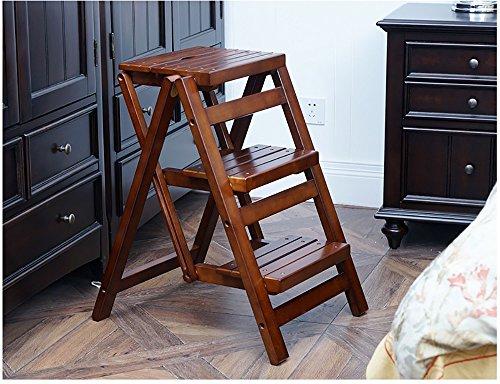 Qtpl scale multifunzionali pieganti della scala di legno degli