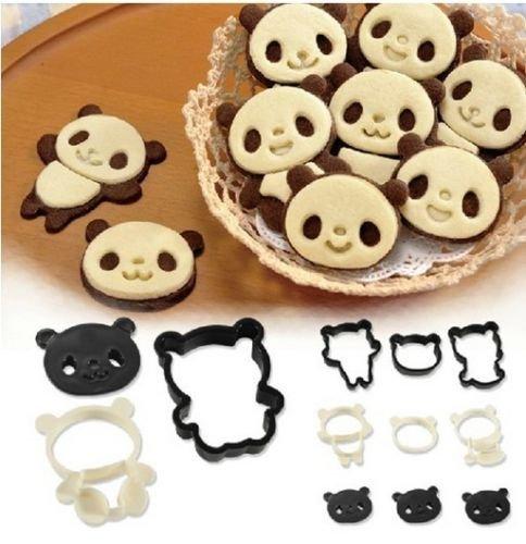 nda Ausstecher Set für Kinder Fondant Schneider Formen Baby Dusche Kuchen Dekoration Formen Cartoon Cookie Schokolade Stempel Kit (Niedliche Halloween Dekoration Basteln)
