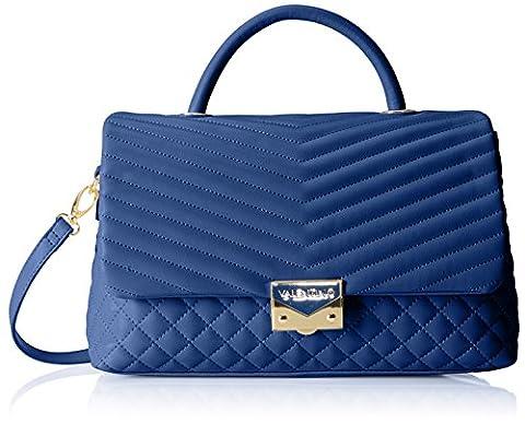 Valentino by Mario Valentino Damen Ritas Henkeltasche, Blau (Blau (Blu)), 13 x 19 x 36 cm