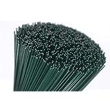 """floral supplies - Alambres para floristería (250 g), color verde Talla:10"""" (260x0.90mm)"""