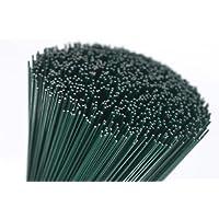 18 grosor calibre verde corte de alambre floristería 17,78 cm, longitudes 250 G unidades