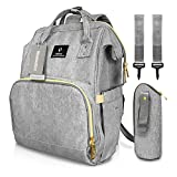 Best Diaper Bag Backpacks - Diaper Tote Bag, HowiseAcc Nappy Changing Backpack Mummy Review