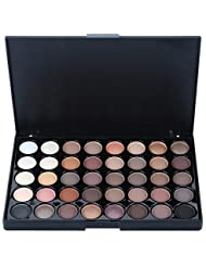 40 Colours Eyeshadow Palette Matte and Shimmer Makeup Palette Eyebrow Powder Professional Cosmetic Make up Kit Set