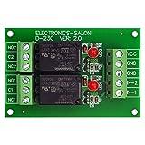 Electronics-Salon Deux relais de puissance SPDT 10Amp, version DC24V, G5LA-14 24VDC.