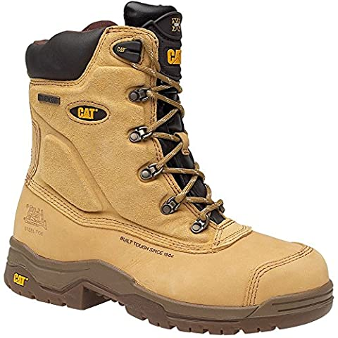 Caterpillar Mens Supremacy Safety Work Boots Brown