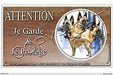 Pets-Easy.com Panneau chien ou plaque Malinois-03 30 cm...