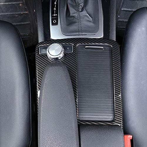 Für Benz C-Klasse W204 2008-2014 Auto ABS Mittelkonsole Becherhalter Rahmen Trim für E-Klasse W212 2010-2011 LHD