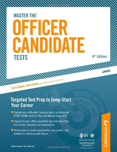 Master the Officer Candidate Tests (Peterson's Master the Officer Candidate Tests)