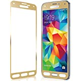 Relax&Shop Premium Golden Tempered Glass Screen Protector for samsung E7 - Gold