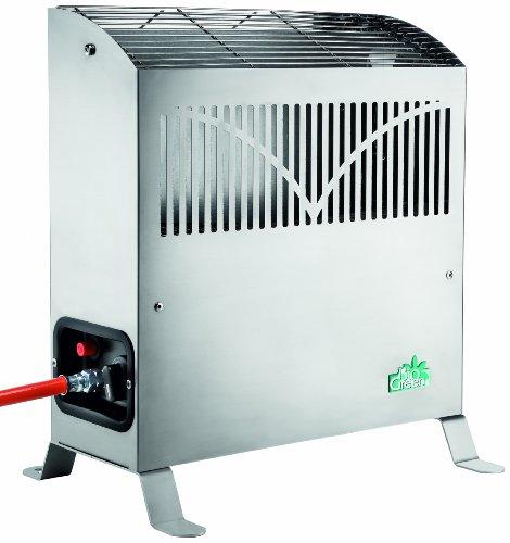 Bio Green Gasheizung Frosty 2500 W, Silber