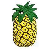 SKS Distribution® super nette tropische hawaiische Ananas weichen Silikon-Hülle für Apple iPhone 5 / 5S / 5C / SE