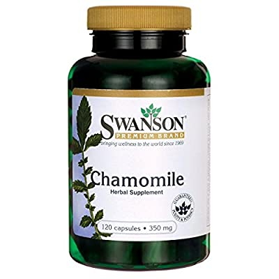 Swanson Chamomile - 350mg, 120 Capsules by Swanson Health Products