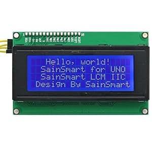 SainSmart&reg IIC/I2C/TWI Serial 2004 20x4 LCD Module Shield For Arduino UNO MEGA R3