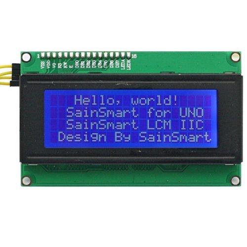 SainSmart IIC/I2C/TWI Serial 2004 Character 20x4 LCD Display Modul Shield für Arduino UNO Mega2560 Duemilanove R3 AVR ATMEL Robot Lcd-display-shield