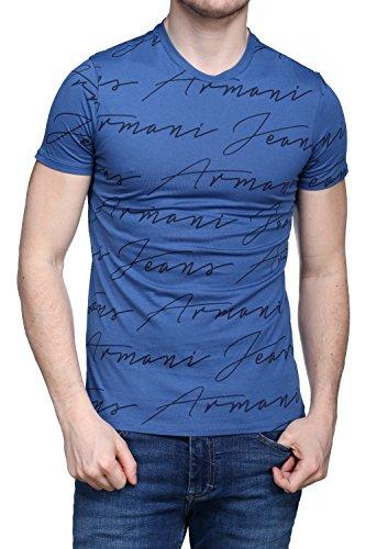 t-shirt-uomo-stampa-firma-armani-jeans-3y6t40-6jpfz-1535-avion