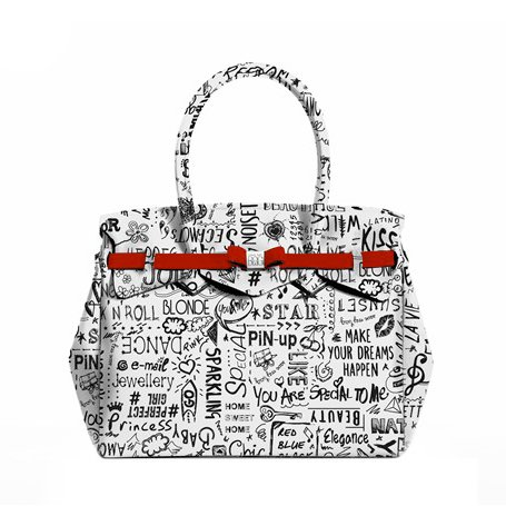 "Save My Bag - Petite Miss ""Love the Words"" - Special Edition San Valentino 2017"