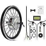 """AFTERPARTZ 20"""" Kit de conversion de vélo électrique LCD roue avant Pedelec 36V"""
