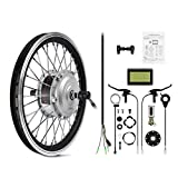 AFTERPARTZ® Electrique Byclette Moteur Kit Conversion électrique LCD roue avant Pedelec 36V 250W de conver e-vélo (26')