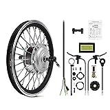 AFTERPARTZ® Elektro-Fahrrad Umbausatz Vorderrad Nachrüstsatz E-Bike 250W 36V 25km/h (16